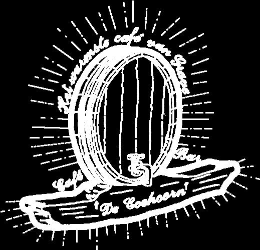 Café - Bar De Coehoorn oud logo wit
